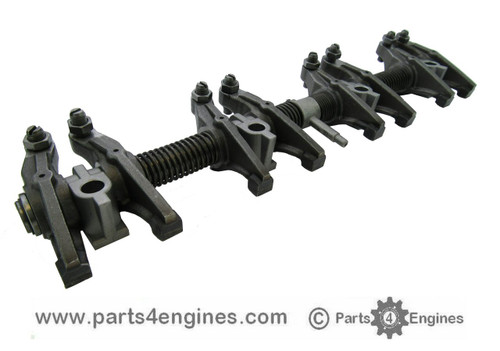 Perkins 4.236 Rocker shaft assembly,from parts4engines.com