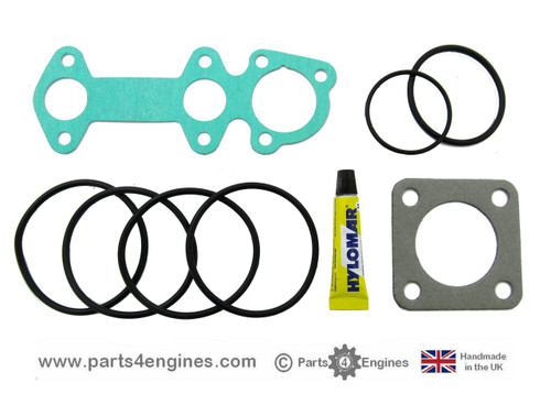 Volvo Penta D1-13 Heat Exchanger gasket & seal kit, from parts4engines.com