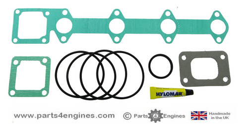 Volvo Penta D2-55A / B Heat Exchanger gasket and seal kit, from parts4engines.com