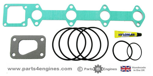 Volvo Penta D2-55C / D / F Heat Exchanger gasket and seal kit, from parts4engines.com
