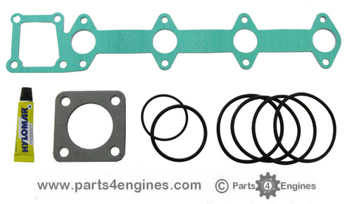 Volvo Penta D2-40 Heat Exchanger gasket & seal kit, from parts4engines.com