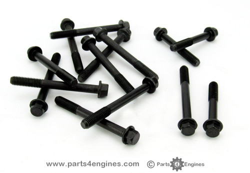 Volvo Penta MD2030 cylinder head bolt Set , from parts4engines.com