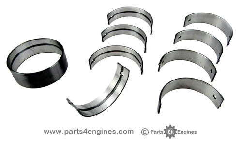 Volvo Penta D2-40 Main bearing set with bush, from parts4engines.com