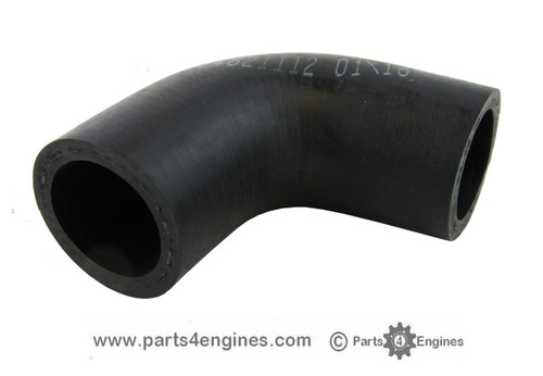 Perkins Prima M80T Raw water pump hose, from parts4engines.com