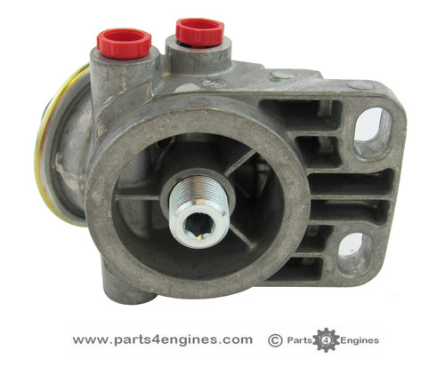 Volvo Penta D2-60F Fuel filter head, from parts4engines.com