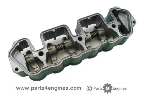 Volvo Penta MD2040 Rocker shaft carrier & and shaft assembly, from parts4engines.com