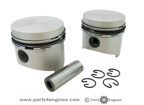 Yanmar 1GM Piston with rings from, parts4engines.com