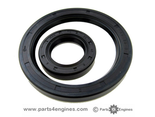 Yanmar 1GM10 Crankshaft oil seals, from parts4engines.com