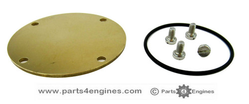 Volvo Penta D2-60F raw water pump end cover kit, from parts4engines.com