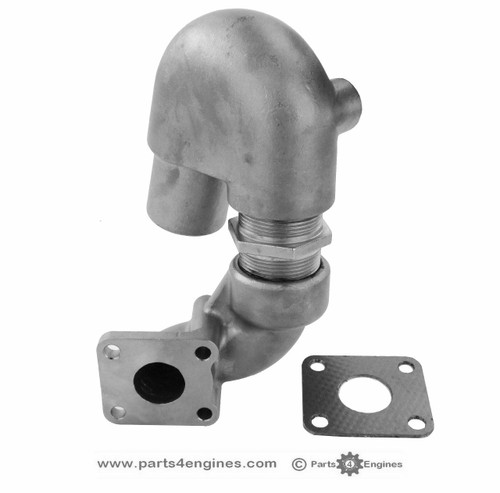 Yanmar 2GM20 Stainless Steel Exhaust outlet - parts4engines
