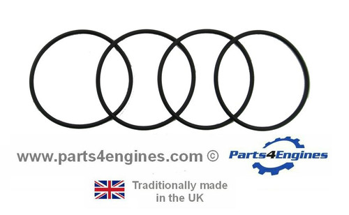 Volvo Penta TAMD22P-B Oil cooler 'O' ring seals, from parts4engines.com