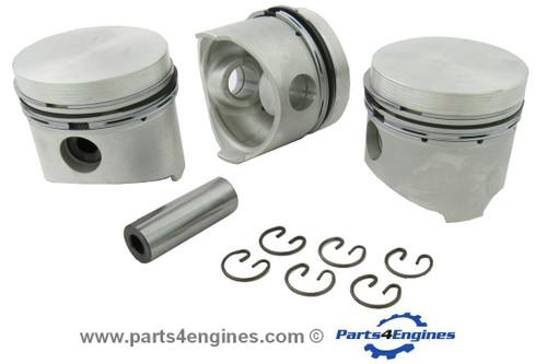 Yanmar 3GM Piston with rings