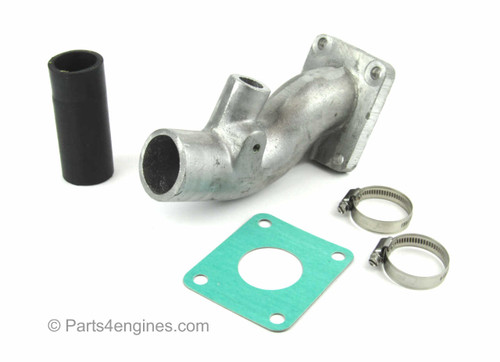 Perkins 4.99 Straight Exhaust Outlet kit - parts4engines.com