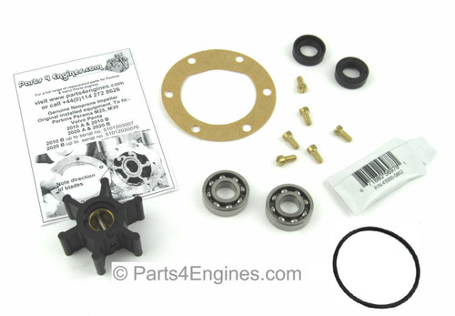 Perkins Perama M25 raw water pump rebuild kit - parts4engines.com