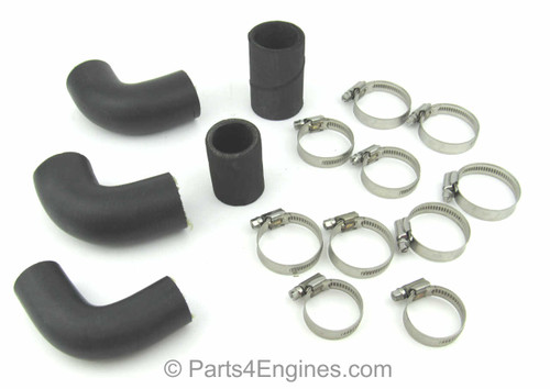 Perkins 4.108 with Bowman heat exchanger hose & clip kit - parts4engines.com
