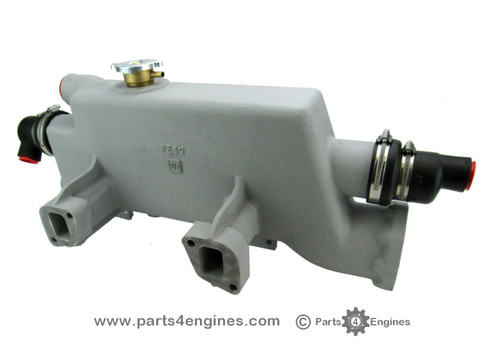 Perkins 4.236 Bowman heat exchanger & exhaust manifold