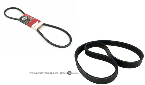 Volvo Penta D2-55 alternator drive belt - parts4engines.com
