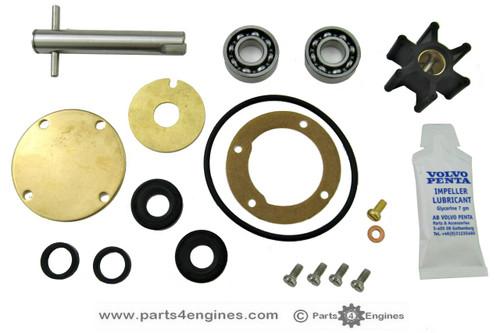 Volvo Penta 2002 raw water pump rebuild kit from Parts4engines.com