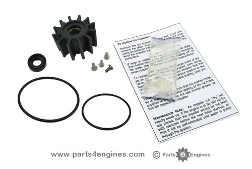 Volvo Penta D2-55 Raw water pump service kit - parts4engines.com