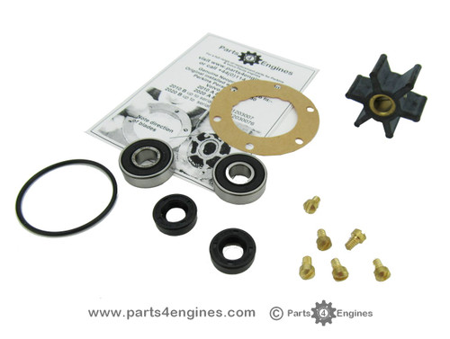 Volvo Penta MD2020 raw water pump early rebuild kit from Parts4engines.com