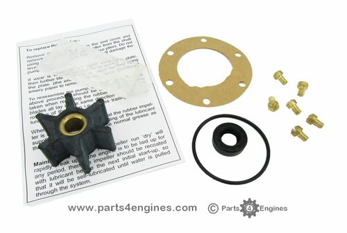 Volvo Penta MD2020 raw water pump early service kit from Parts4engines.com