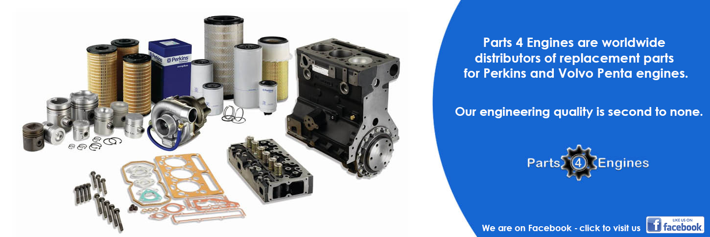 Parts 4 Engines are worldwide distributors of replacement parts for Perkins and Volvo Penta engines.  Our engineering quality is second to none.