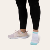 Double Tab All Day Active No Show Socks