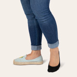 Cushion Heel and Toe Low Cut with  REPREVE®