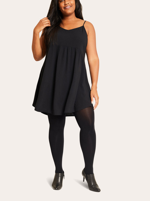 Curvy Semi-Opaque Comfort Tights