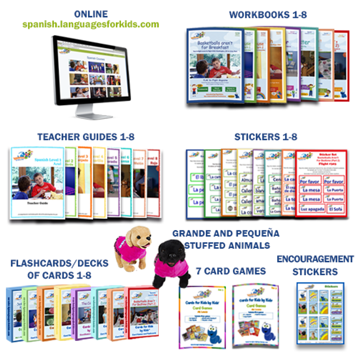 The Works (Levels 1-8 with Full Online Curriculum)