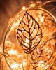 Copper tone Leaves