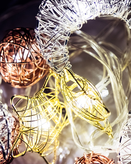 Starry Nights Woven Wire Fairy Lights *
