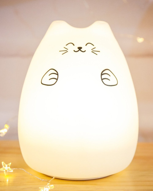 Rechargeable Soft Cat Lamp *