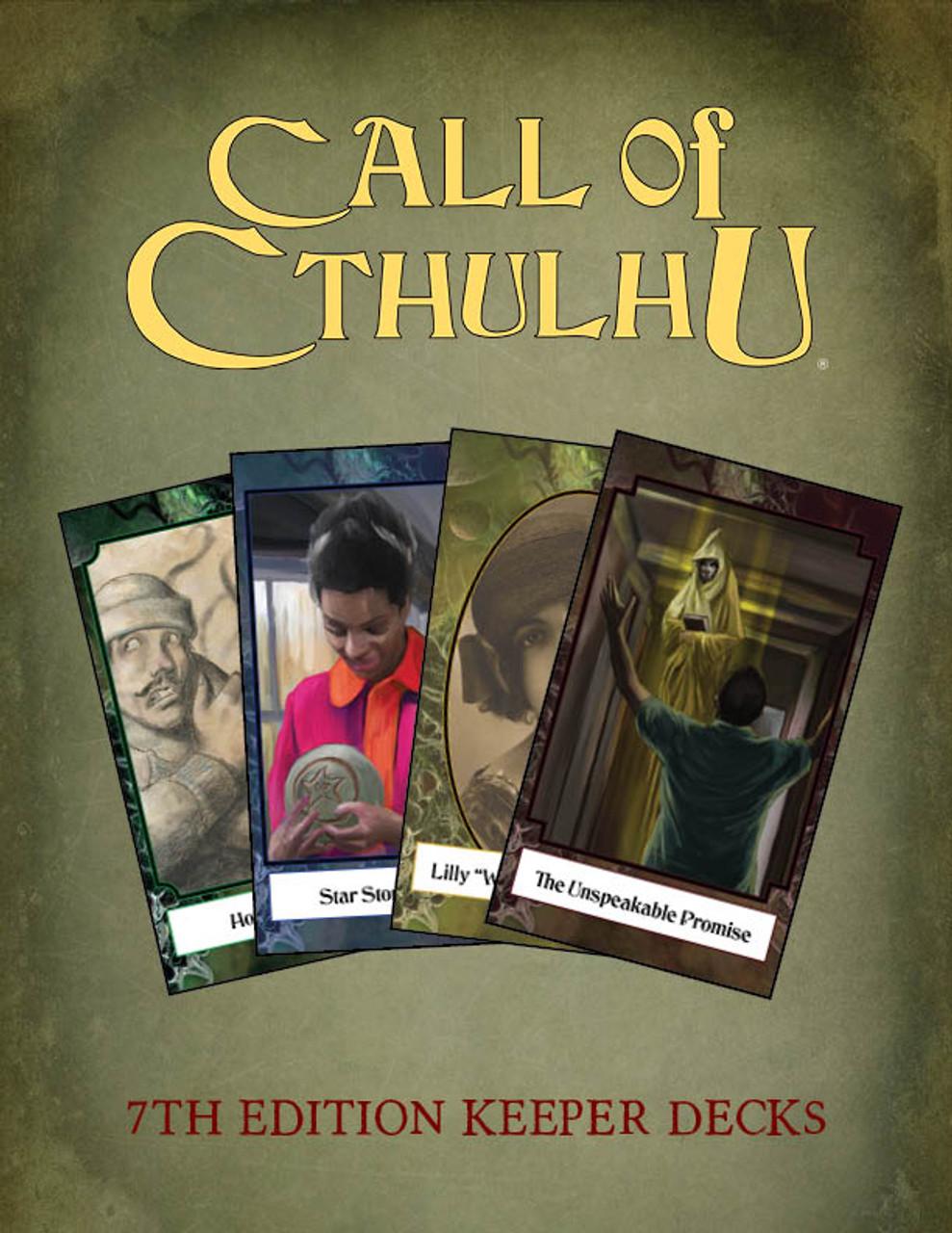 Call Of Cthulhu Keeper Decks Chaosium Inc