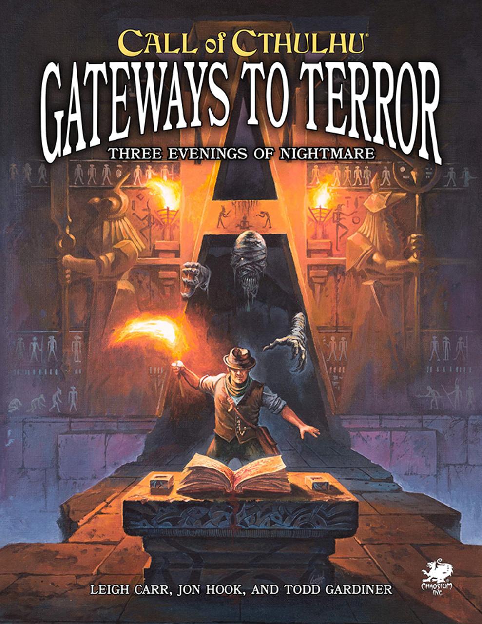 Gateways to Terror Three Portals into Nightmare: Call of Cthulhu RPG -  Chaosium Inc