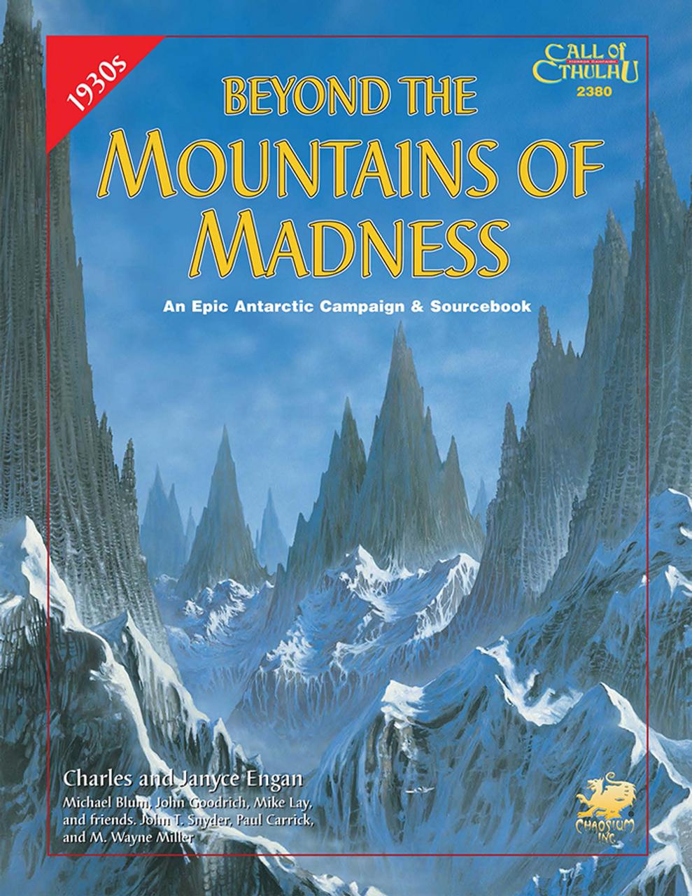 Äventyrskampanjen Beyond the Mountains of Madness