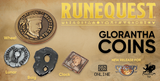 RuneQuest Glorantha Coins Set to be released at Gen Con Online by Campaign Coins