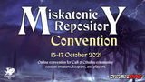 Coming this Friday: Miskatonic Repository Con