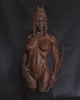 RPGs elevated to fine art: sculptor Eric Vanel's heroic bronze of RuneQuest character Jar-eel selected for the Salon des Artistes Français 2021