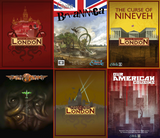 Chaosium acquires Cubicle 7's Cthulhu Britannica and World War Cthulhu lines