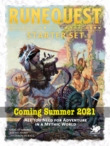 RuneQuest Starter Set Design Diary #2: Cover art reveal and what's inside the Box