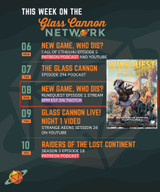 New Game, Who Dis? The Glass Cannon plays RuneQuest, starts Wed Sept 8