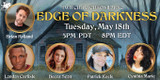 On May 18, a group of investigators will inch toward the Edge of Darkness on Chaosium Twitch