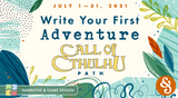 Write your first Call of Cthulhu adventure this July: Chaosium joins Storytelling Collective's RPG Writer Workshop