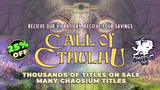 Save up to 25% on Chaosium releases in the Fantasy Grounds Summer Sale