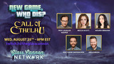The Glass Cannon plays Call of Cthulhu - Wed 25 Aug