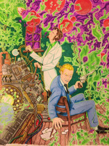 The winners of our Call of Cthulhu Coloring Contest!