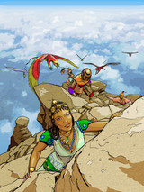 The winners of our RuneQuest Coloring Contest!