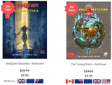 Last two days to purchase Chaosium's HeroQuest RPG titles; they are about to be permanently removed from sale