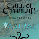 Call of Cthulhu Quickstart is now on Astral TableTop VTT